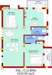 1010 sqft, 2 bhk Apartment in SBA Ayushi Peelamedu, Coimbatore at Rs. 48.4500 Lacs