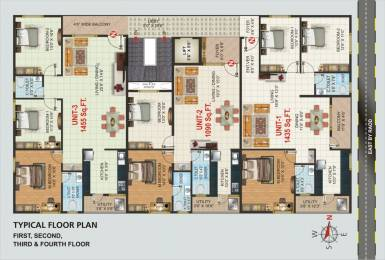 1435 sqft, 3 bhk Apartment in Builder SS ResidencyUttarahalli main road Uttarahalli Main Road, Bangalore at Rs. 68.8800 Lacs