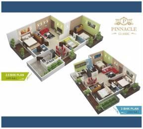 1622 sqft, 3 bhk Apartment in Builder Pinnacle ClassicJP nagar outer ring road JP Nagar Phase 1, Bangalore at Rs. 1.4596 Cr