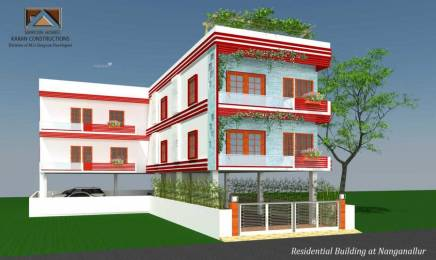 1137 sqft, 3 bhk Apartment in Builder Karan constructions Nanganallur, Chennai at Rs. 1.0800 Cr