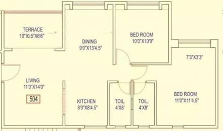 945 sqft, 2 bhk Apartment in Kenjale Spring Meadows Ambegaon Budruk, Pune at Rs. 55.0000 Lacs