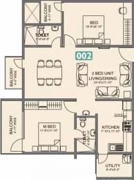 1306 sqft, 2 bhk Apartment in Vmaks Laurel Attibele, Bangalore at Rs. 47.0000 Lacs