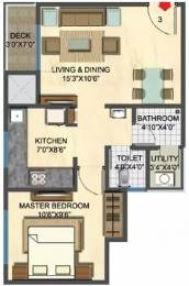 639 sqft, 1 bhk Apartment in Lodha Casa Rio Dombivali, Mumbai at Rs. 8500