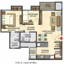 963 sqft, 2 bhk Apartment in Lodha Casa Rio Dombivali, Mumbai at Rs. 9500
