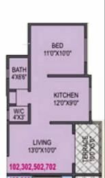 578 sqft, 1 bhk Apartment in RK Alankapuram Alandi, Pune at Rs. 30.0000 Lacs