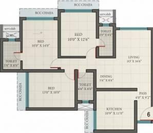 1560 sqft, 3 bhk Apartment in Romell Grandeur Goregaon East, Mumbai at Rs. 2.4500 Cr