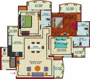 1590 sqft, 3 bhk Apartment in SVP Gulmohur Garden Raj Nagar Extension, Ghaziabad at Rs. 8000