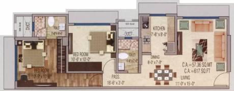 1000 sqft, 2 bhk Apartment in Mayfair Shyam Borivali West, Mumbai at Rs. 1.7500 Cr