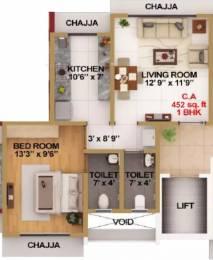 587 sqft, 1 bhk Apartment in Modispaces Amazon Borivali West, Mumbai at Rs. 1.1200 Cr