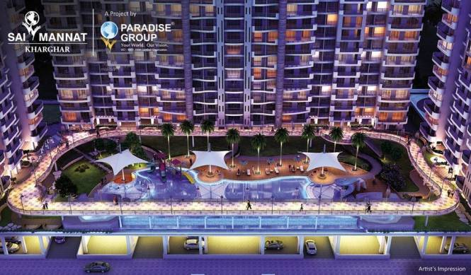 1150 sqft, 2 bhk Apartment in Paradise Sai Mannat Kharghar, Mumbai at Rs. 1.3500 Cr