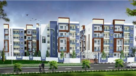 1055 sqft, 2 bhk Apartment in Builder Elegant pride Telecom Layout, Bangalore at Rs. 50.1125 Lacs