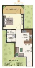 558 sqft, 1 bhk Apartment in HCBS Sports Ville Sector 2 Sohna, Gurgaon at Rs. 12.0000 Lacs