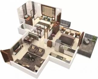 847 sqft, 2 bhk Apartment in Signature The Roselia Sector 95A, Gurgaon at Rs. 20.9705 Lacs