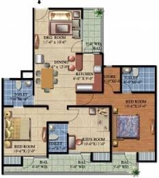 1526 sqft, 3 bhk Apartment in Ascent Savy Ville de Raj Nagar Extension, Ghaziabad at Rs. 40.0000 Lacs