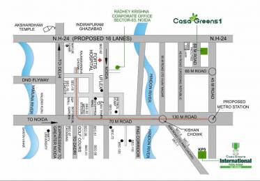 1050 sqft, 2 bhk Apartment in Radhey Casa Greens 1 Sector 16 Noida Extension, Greater Noida at Rs. 34.6500 Lacs