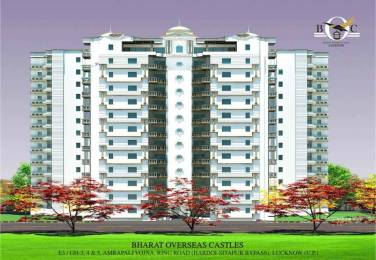 1280 sqft, 2 bhk Apartment in Samiah Bharat Overseas Castle Mutkkipur, Lucknow at Rs. 40.9600 Lacs