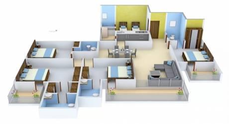 2400 sqft, 4 bhk Apartment in Tulip Purple Sector 69, Gurgaon at Rs. 1.2200 Cr