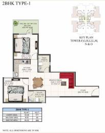 600 sqft, 2 bhk Apartment in Supertech The Valley Sector 78, Gurgaon at Rs. 18.9980 Lacs