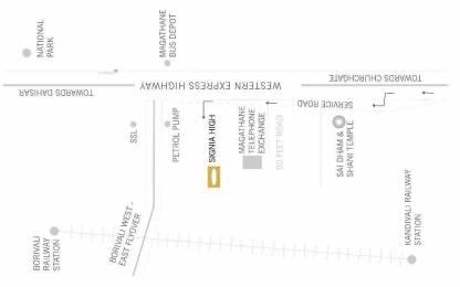 2521 sqft, 3 bhk Apartment in Sunteck Sunteck Signia High Kandivali East, Mumbai at Rs. 4.6800 Cr