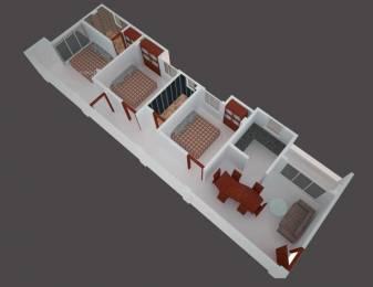 1310 sqft, 3 bhk Apartment in Builder laxmiii niwas Janakpur, Guwahati at Rs. 44.5400 Lacs