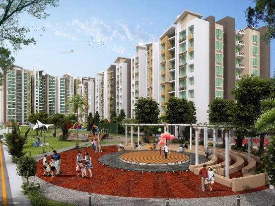 1575 sqft, 3 bhk Apartment in Man Ocean Park Nipania, Indore at Rs. 52.0000 Lacs