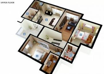 1966 sqft, 3 bhk Apartment in DLF New Town Heights New Town, Kolkata at Rs. 21000