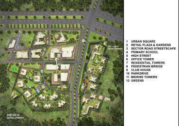 2279 sqft, 3 bhk Apartment in Pioneer Presidia Sector 62, Gurgaon at Rs. 2.0511 Cr