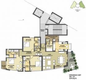 2279 sqft, 3 bhk Apartment in Pioneer Presidia Sector 62, Gurgaon at Rs. 2.0500 Cr