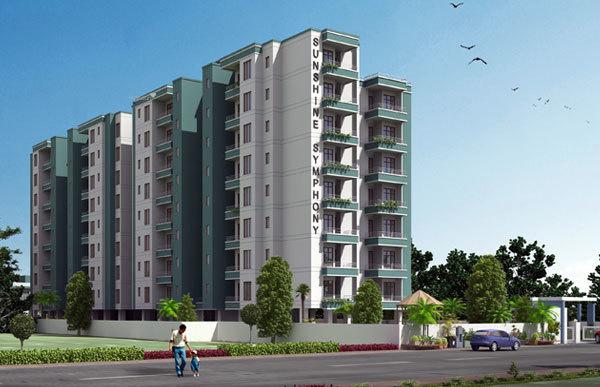 1430 sqft, 3 bhk Apartment in Dhanuka Sunshine Symphony Ajmer Road, Jaipur at Rs. 38.0000 Lacs