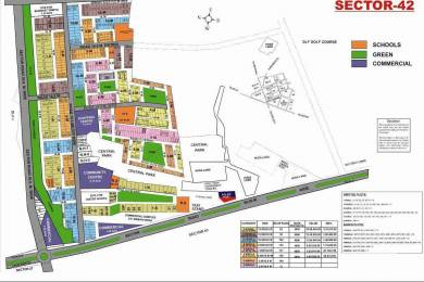 1449 sqft, Plot in Builder Project Sector 42, Gurgaon at Rs. 1.4600 Cr