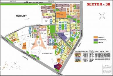 2367 sqft, Plot in Builder Project Sector 38, Gurgaon at Rs. 2.2355 Cr
