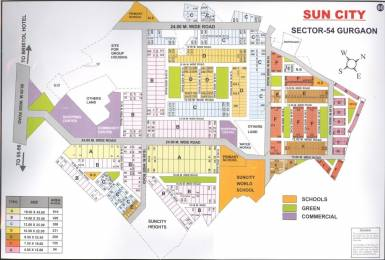 4500 sqft, Plot in Suncity Township Sector-54 Gurgaon, Gurgaon at Rs. 5.5000 Cr