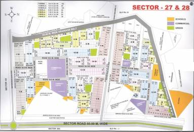 1836 sqft, Plot in Builder Project Sector 28, Gurgaon at Rs. 2.4480 Cr