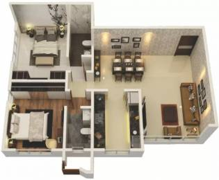 994 sqft, 2 bhk Apartment in Princecare Zinnia Mahim, Mumbai at Rs. 3.7500 Cr