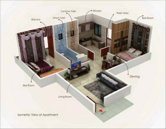 810 sqft, 2 bhk Apartment in Mahalaxmi Petal Manish Nagar, Nagpur at Rs. 24.5000 Lacs