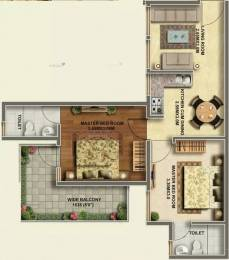 575 sqft, 2 bhk Apartment in Ramsons Kshitij Sector 95, Gurgaon at Rs. 22.0500 Lacs
