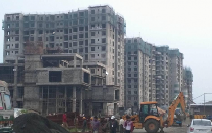 1050 sqft, 2 bhk Apartment in Siddha Galaxia 2 Rajarhat, Kolkata at Rs. 58.0000 Lacs