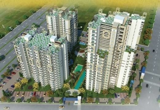 1595 sqft, 3 bhk Apartment in Cosmos Shivalik Homes UPSIDC Surajpur Site, Greater Noida at Rs. 12000