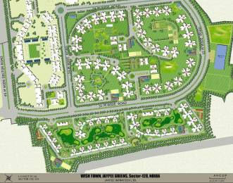 1356 sqft, 3 bhk Apartment in Jaypee Kosmos Sector 134, Noida at Rs. 46.0000 Lacs
