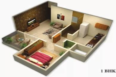 610 sqft, 1 bhk Apartment in Goel Ganga Cypress Tathawade, Pune at Rs. 11000