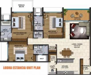 2070 sqft, 3 bhk Apartment in Lodha Belmondo Gahunje, Pune at Rs. 17000