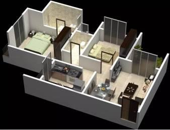 930 sqft, 2 bhk Apartment in OSSK Sai Sharnam Kalyan West, Mumbai at Rs. 9000