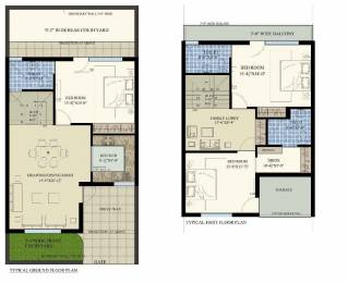 1251 sqft, 3 bhk Villa in SBP Homes Villa Sector 126 Mohali, Mohali at Rs. 59.0000 Lacs