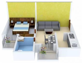 555 sqft, 1 bhk Apartment in Krish Icon Sector 33 Bhiwadi, Bhiwadi at Rs. 12.0000 Lacs
