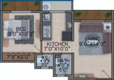 595 sqft, 1 bhk Apartment in Oyster Mohak Naigaon East, Mumbai at Rs. 23.5025 Lacs