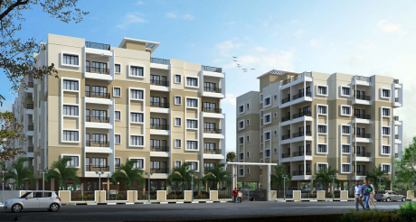 893 sqft, 2 bhk Apartment in Loharuka Green Island Rajarhat, Kolkata at Rs. 28.5760 Lacs