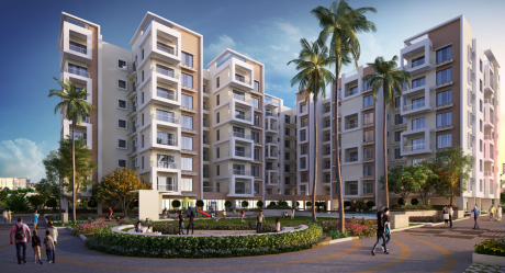 744 sqft, 2 bhk Apartment in Space Group and Diamond Group Diamond Space Navita Madhyamgram, Kolkata at Rs. 22.3200 Lacs