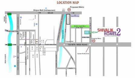 1500 sqft, 3 bhk Apartment in Cosmos Shivalik Homes 2 Sector 16 Noida Extension, Greater Noida at Rs. 42.8600 Lacs