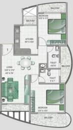 1125 sqft, 2 bhk Apartment in Keystone Monarch Residency Kharghar, Mumbai at Rs. 76.0000 Lacs