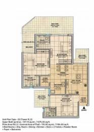 1475 sqft, 3 bhk Apartment in Gaursons Gaur Yamuna City Sector 19 Yamuna Expressway, Noida at Rs. 32.1600 Lacs